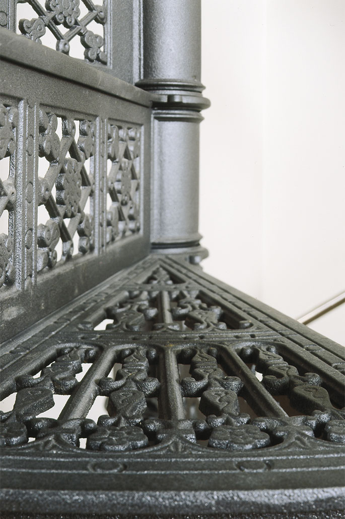 Historische Wendeltreppe Modell 1900
